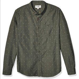 New Billabong Mens button up shirt